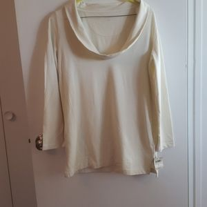 NWT LANDS END COWL NECK TUNIC